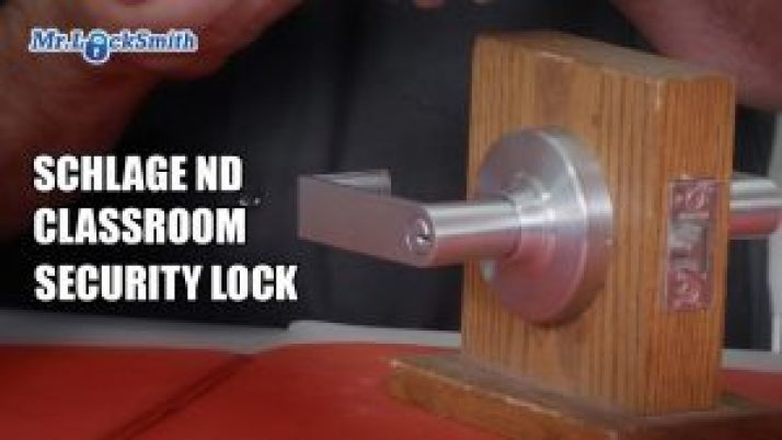 Schlage ND Classroom Security Lock